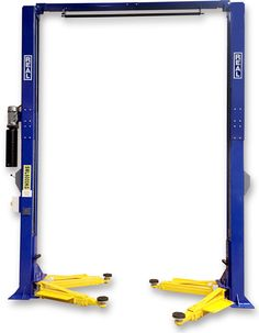 REAL 2 post clear floor hoist 6 ton lifts (made by Rotary Engineering Asia Ltd)