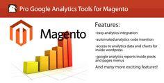 Pro Google Anaylitcs Tools for Magento Google Analytics Report, Drupal, Wordpress Plugins, Extensions, Bar Chart, Diamonds, Coding, Popular, Tools
