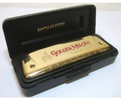 Hohner Golden Melody Gold Harmonica