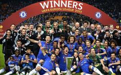 Chelsea FC The Europa League 2013 Champion Chelsea Football Team, Chelsea Fc Players, Chelsea Fans, David Luiz Chelsea, Chelsea Champions, Chelsea Fc Wallpaper, Gary Cahill, Milan, Uefa Super Cup