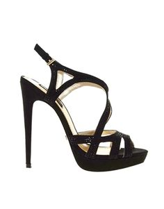 Image 1 of Blink Cut Out Strap Heeled Sandal