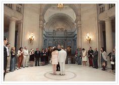 San Francisco City Hall wedding.