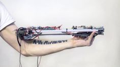 """::vtol:: """"reading my body"""". а sound controller that uses tattoo as a music score  this is a special instrument that combines human body and ..."""