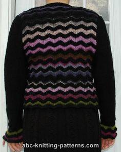 ABC Knitting Patterns - Elegant Noro Yarn Cardigan