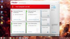 How To #Disable & #Enable #McafeeAntivirus2015