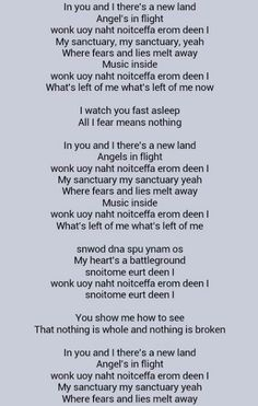 Sanctuary lyrics Kingdom Hearts II