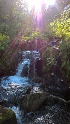 Miniwaterfall in Levi