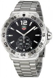 TAG Heuer Men's WAU1112.BA0858 Formula 1 Black Dial Stainless Steel Watch