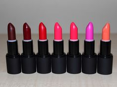 The Skin and Beauty Blog: My Sleek MakeUP True Colour Lipstick Army