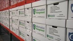 Columbia Industries held a grand opening Thursday for their new information management storage facility.  The storage facility has lots to offer. It has space for 135,000 banker boxes of documents.