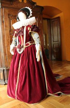Tailor's - Mme Chantberry, Dress of Constance of Austria, part 1