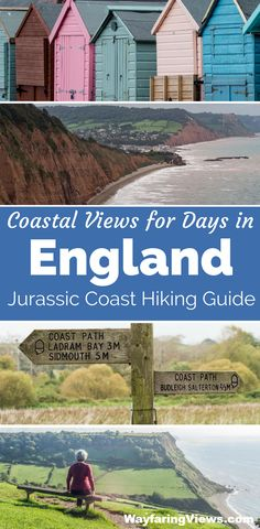 Get epic coastal views on the Jurassic coast of England with this hiking guide. - Get epic coastal views on the Jurassic coast of England with this hiking guide. Get epic coastal views on the Jurassic coast of England with this hiking guide. Hiking Guide, Hiking Trails, Hiking Europe, Jurassic Coast, Voyage Europe, London, Ireland Travel, European Travel, Travel Inspiration