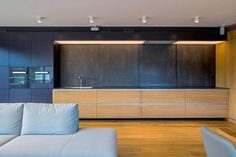 Villa Vista large bright open space apartment in Bratislava by RULES Architects - CAANdesign | Architecture and home design blog