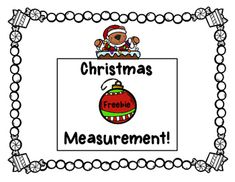 This Christmas-themed measuring activity would be perfect for a math station, small group work, partner work, a write-the-room activity or work for early finishers. Kids will love the cute graphics.Please consider leaving feedback and following my store on TPT and Facebook!www.teacherspayteachers.com/store/Teachers-And-TotsThanks so much!