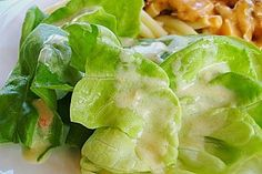 Delicious salad dressing for all leafy lettuce - Salat - Salad Recipes Green Salad Recipes, Salad Dressing Recipes, Easy Salad Recipes, Drink Recipes, Healthy Crockpot Recipes, Pork Recipes, Grilling Recipes, Leafy Salad, Quinoa