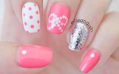 Easy Bow Nails… Using Dots! - elle & ish - shopping, decor, fashion, travel and figuring out how to pay for it all