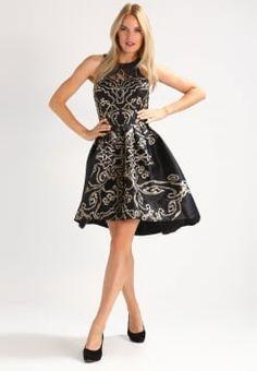 Chi Chi London - CHRISTINA - Cocktailkleid / festliches Kleid - black/gold