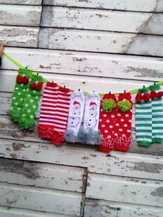 Christmas Leg Warmers by 2HairCandy on Etsy, $12.00