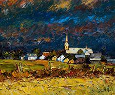 Apres l'orage, by Raynald Leclerc
