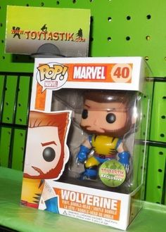 Funko Pop Heroes Vinyl Exclusive Bobble Head Unmasked Wolverine Going for 199.99 right now, May 1st