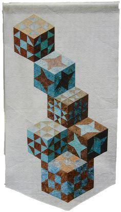 Tumbling Blocks revisited ! | Quilt Inspiration | Bloglovin'
