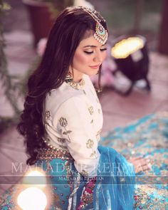 Pakistani Bridal Makeup, Pakistani Fashion Party Wear, Pakistani Wedding Outfits, Bridal Lehenga, Stylish Dresses For Girls, Stylish Girls Photos, New Wedding Dress Indian, Function Dresses, Muslimah Wedding Dress