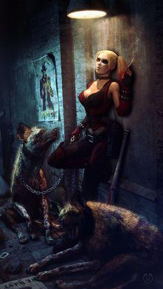Harley Quinn - Urbanator.deviantart.com