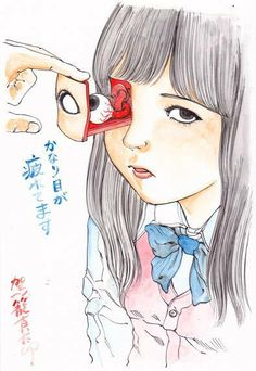 Shintaro Kago  now my favorite artist