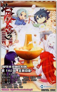 Doupo CangQiong 140 #manga #anime