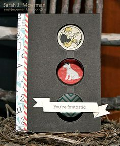 Created by Sarah Moerman using the Simon Says Stamp September 2014 card kit.  August 2014