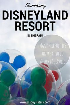 When you think of planning a trip to Disneyland Resort we're pretty sure that you don't think of dealing with rain. It doesn't rain in Sou. Disneyland In The Rain, Disneyland Vacation, Downtown Disney, Disney Cruise, Disney Vacations, Disney Tips, Trip Planning, How To Plan, Day