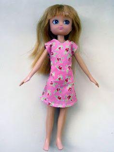 A Little Crafty: Lottie Doll Dress Pattern