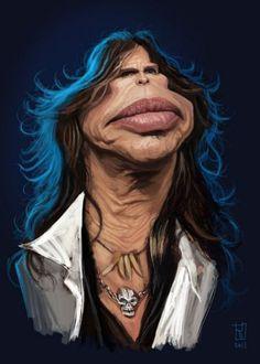 Caricature Steven Tyler | Aerosmith