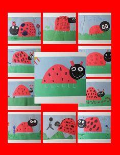 Ladybugs Kindergarten Collage Ladybugs Kindergarten Collage Springtime Staple Project So Incredibly Cute Ladybugs Kindergarten Collage By Mermaidsandjellybeans Kindergarten Collage, Kindergarten Art Lessons, Spring Art, Spring Crafts, Spring Activities, Art Activities, Art For Kids, Crafts For Kids, Ladybug Crafts