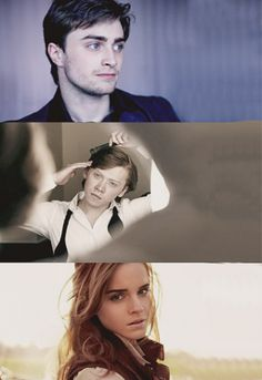Describe your Harry Potter experience in one word:  Daniel- Unforgettable  Rupert- Phenomenal  Emma- Magical