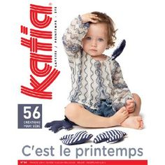 091 - Catalogue Katia Layette n°64 Printemps/Eté 2013