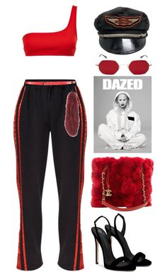 """Anarchy"" by lalagenue ❤ liked on Polyvore featuring STELLA McCARTNEY, Christian Dada, Harley-Davidson, Chanel, Giuseppe Zanotti and Landi"