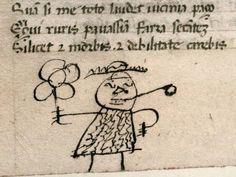 On gribouillait déjà dans les livres du Moyen Age