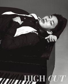 Yoo Ah In - High Cut Magazine Vol.121