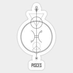 Astrology Pisces, Astrology Signs, Arrow Tattoos, Dog Tattoos, Animal Tattoos, Pisces Tattoo Designs, Pisces Constellation Tattoo, Geometric Arrow, Zodiac Sign Tattoos