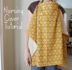 this is a great tutorial to use for nursing covers!