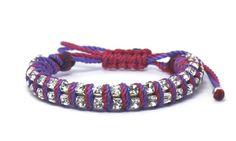 picarosa - double rhinestones with colors Rhinestones, Colors, Bracelets, Men, Shopping, Jewelry, Fashion, Moda, Jewlery