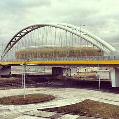 http://www.GraphicDesignNYC.net #bridge #gdansk #PGEArena
