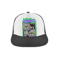 Exi and Exo - The Twin Cats Snapback Hat