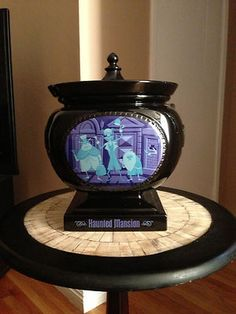 Very RARE Disney Haunted Mansion Limited Edition 40th Anniversary Cookie Jar Urn | eBay