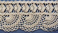 MyPicot | Free crochet patterns  Tutorial ༺✿Teresa Restegui http://www.pinterest.com/teretegui/✿༻