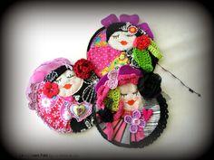 Le Giovani fate, spille tessili handmade Lo Stile di Giò
