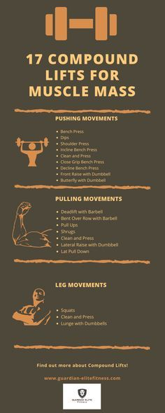 17 Compound Lifts To Gain Muscle Mass Fast   Guardian-Elite Fitness