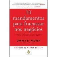 10 mandamentos para fracassar nos negócios Donald R. Keough por R$19,90
