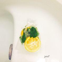 柚子とレモンバームのお風呂